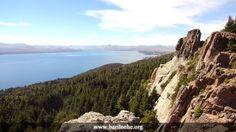 Vista desde Cº Otto Bariloche, hacia el Este y lago Nahuel Huapi | www.bariloche.org
