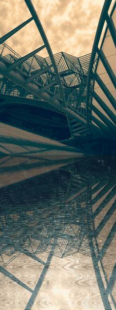 Calatrava in the mirror....