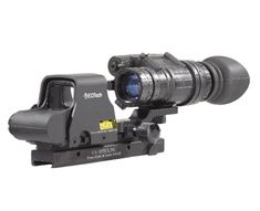 EOTech and PVS-14 night vision