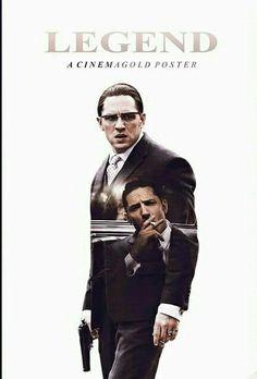 Cinemagold poster Legend Tom Hardy
