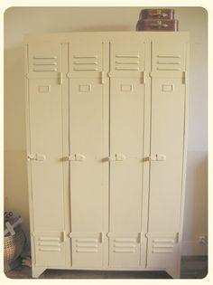 meuble console morgan 9 grand casiers industriel clapet plateau metal mobilier pinterest. Black Bedroom Furniture Sets. Home Design Ideas