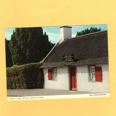 Burns' Cottage Postcard Alloway Ayshire Scotland post card 2AC73 Listing in the Real Photo,Postcards,Collectibles Category on eBid United States | 140980778