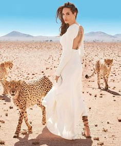 Angelina Jolie for Harper's Bazaar