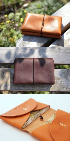 Inspiration: leather card case