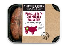 Yorkshire Dales Meat Co. - Pork, Leek 'n Cranberry Sausages