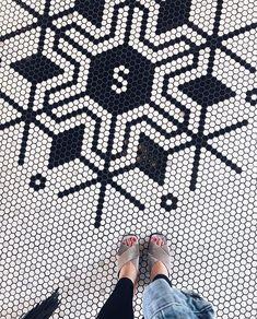'S' stands for. Photo by Restaurant Kitchen, Bathroom Floor Tiles, Flooring, Mosaic Floors, Interior Design, Instagram, Fashion, Nest Design, Moda