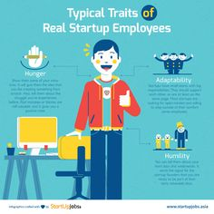 Real startup employees have these traits!