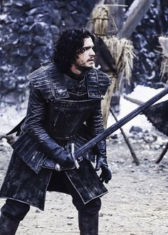 Jon Snow Game of Thrones - Thanks Laurie!