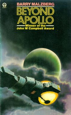 "Mind-Blowing Spaceships from 1970s British Paperbacks: ""Beyond Apollo"" by Barry Merzberg"