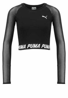 Puma Studio Camiseta Manga Larga Black camisetas y blusas Studio PUMA Manga Larga camiseta black Noe.Moda