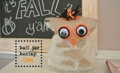 ball jar owl thepain