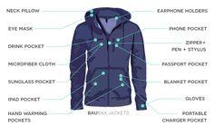 Baubax   World's best travel jackets