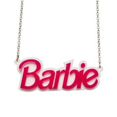 A thick, double layered, hard-wearing laser cut Barbie acrylic necklace. The pendant measures across and hangs between a plated chain. We hope you enjoy your jewellery! Wear with care :) Barbie Birthday, Barbie Party, Birthday Bash, Barbie Costume, Kawaii Jewelry, Acrylic Photo, Laser Cut Acrylic, Cat Necklace, Pretty Rings