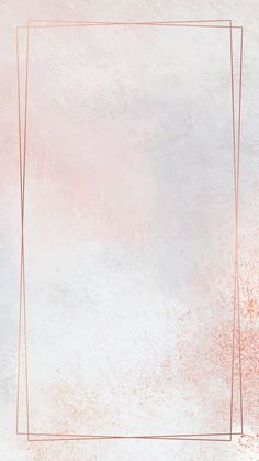 yy Rectangle copper frame on pastel mobile phone wallpaper vector Pastel Background Wallpapers, Flower Background Wallpaper, Pretty Wallpapers, Pink Glitter Background, Background Vintage, Background Pictures, Rose Gold Wallpaper, Framed Wallpaper, Tumblr Wallpaper