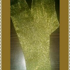 Leggings Dazzling black and gold leggings. Have a real sparkle to them. NWOT Pants Leggings