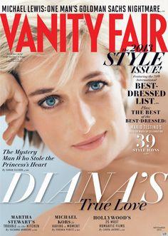 PRINCESS DIANA on VANITY FAIR COVER