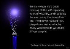 Discworld Quote by Sir Terry Pratchett, by Kim White