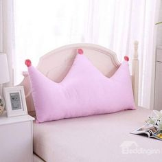 Kid Bedrooms, post planning reference 9413192054 for the super dooper kid room. Pink Pillows, Baby Pillows, Custom Pillows, Decorative Throw Pillows, Baby Room Decor, Bedroom Decor, Diy Cadeau, Cushion Cover Designs, Diy Cushion