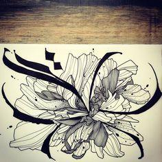 Massive Wild Flower! Dispo pour être tatoué! Pour réserver >> futurballistik@hotmail.com  #abstractcalligraphy #wildstyle #wildstyleflower #flowerstattoo  #fleur #tatouagedefleur #tatoueur #tattooer #tattooer #tattooartist #tattooart #tattoodesign #artistetatoueur #inkedbyguet #design #dotwork #dotworker #dotworktattoo #designtattoo #guet #graphism #graphictattoo #blackwork #blacktattoo #blackworker #blacktattooart #empreintetattooshop #empreintebodyart #tattrx #sorrymummytattoo #tttism