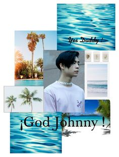 """""""JOHNNY SUH !"""" by deban-hi ❤ liked on Polyvore featuring art, kpop, Johnny, nct and NCT127"""