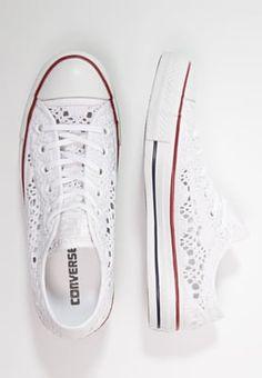 Lage sneakers Converse CHUCK TAYLOR ALL STAR - Sneakers laag - white wit: 114,95 € Bij Zalando (op 27/03/16). Gratis verzending & retournering, geen minimum bestelwaarde en 100 dagen retourrecht!