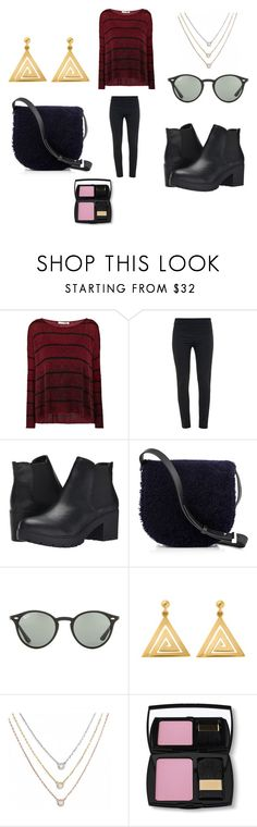 """Untitled #7212"" by allitiner16 ❤ liked on Polyvore featuring Parker Blue, Acne Studios, Steve Madden, Alexander Wang, Ray-Ban, ChloBo, Wish by Amanda Rose and Lancôme"
