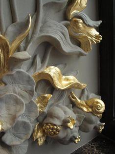 Записки дизайнера: шедевры лепнины в окне одного красивого дома | Colors.life