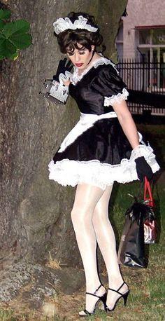 Maid clothed sex deepthroat shorts