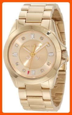Juicy Couture Women's 1901035 Stella Mini Gold Plated Bracelet Watch - All about women (*Amazon Partner-Link)