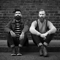 Beards. Men. Beard Brothers. Ink. Photography.