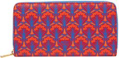 Liberty London Red Iphis Zip-Around Wallet on shopstyle.co.uk