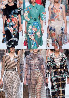 Milan Catwalk Print & Pattern Highlights - Spring/Summer 2018 Ready-to-Wear   Patternbank