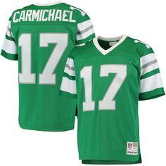 adcb0ffc4 Harold Carmichael Philadelphia Eagles Mitchell   Ness Retired Player  Replica Jersey - Midnight Green