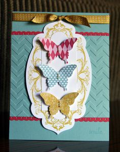 Stampin' Up!  Layered Labels  Krystal's Cards and More