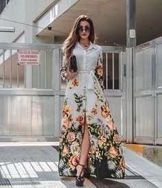 Floral Print Boho Dress - Floral Print Boho Dress Source by - Muslim Fashion, Modest Fashion, Trendy Fashion, Fashion Outfits, Style Fashion, Trendy Style, Casual Summer Dresses, Trendy Dresses, Short Dresses