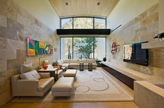 Paradise Valley Residence by Elizabeth A Rosensteel Design Studio.  COULD BE AN  ART QUILT ON THE WALL