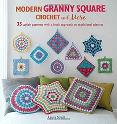 Modern Granny Square Crochet and More - 35 stylish patter... https://www.amazon.co.uk/dp/1782492488/ref=cm_sw_r_pi_dp_zqjkxbNJ28CBC
