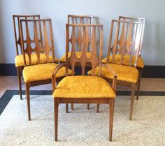 Broyhill Brasilia Dining Chairs Set Of 6 By TwoGuysVintage On Etsy,  $600.00/ Table And