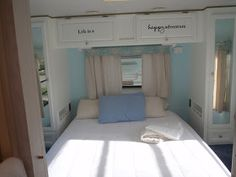 Bluebirds Nest: Painting RV Cabinets and Walls