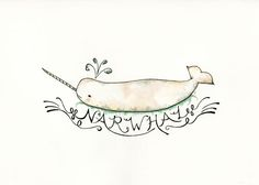 """Awkward animals are sometimes just the cutest! To quote Buddy the Elf- """"Thanks Mr. Narwhal!"""""""