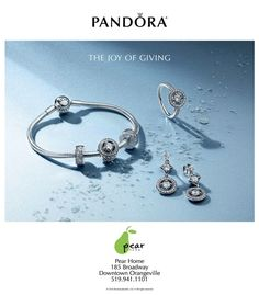 This Holiday Season Inspire Joy with a stunning Pandora Gift set. Only available until supplies last. #orangeville #pearhome #giftsforher