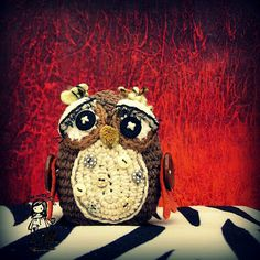 Another cute owl made by Vendulka Maderska :)