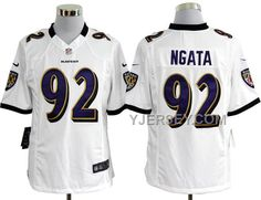 http://www.yjersey.com/hot-nike-ravens-92-ngata-white-game-jerseys.html HOT NIKE RAVENS 92 NGATA WHITE GAME JERSEYS Only 36.00€ , Free Shipping!