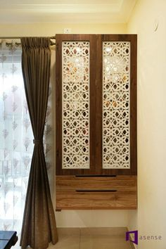 Uma,Raghu & Mahika's House in Prestige Fern Residency,Bangalore Living Room Partition Design, Room Partition Designs, Living Room Tv Unit Designs, Living Room Sofa Design, Bedroom Furniture Design, Home Decor Bedroom, Home Decor Furniture, Furniture Projects, Furniture Makeover