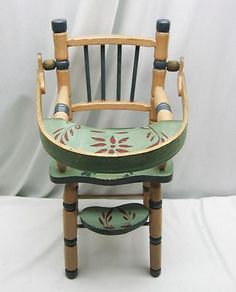 Pretty baby doll highchair