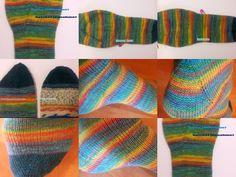 715 Besten Socken Stricken Bilder Auf Pinterest In 2019 Knit Socks