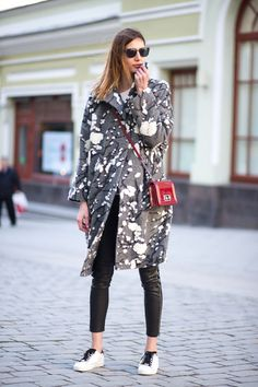 Diego Zuko hit the streets for Mercedes Benz Fashion Week Russia.