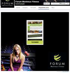 Forum Montreux Fitness - PDF Viewer - Calendrier de séances sportives #Socialshaker #Facebook