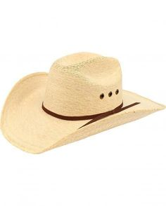 8820482629d Ariat® Natural Palm Tophand Straw Hat  A73104