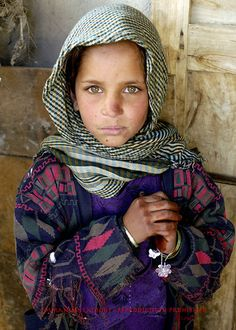 Little Refugee in Afghanistan